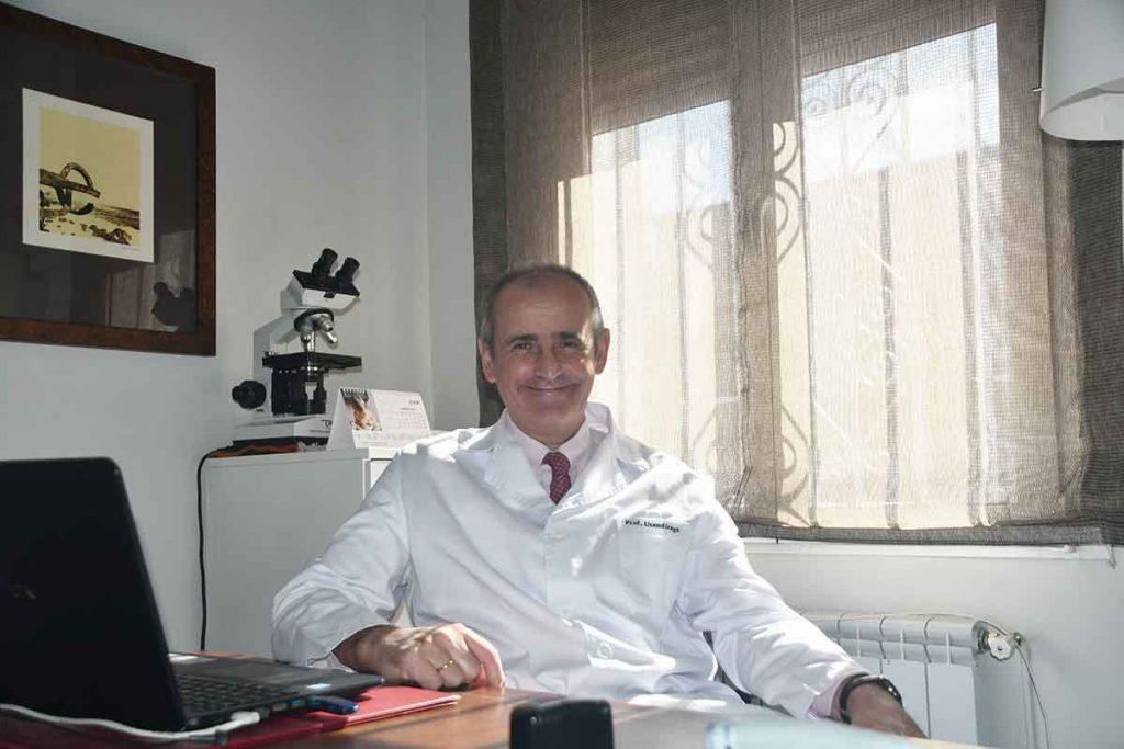 Ramón Usandizaga, doctor ginecólogo y obstetra en la ciudad de Madrid